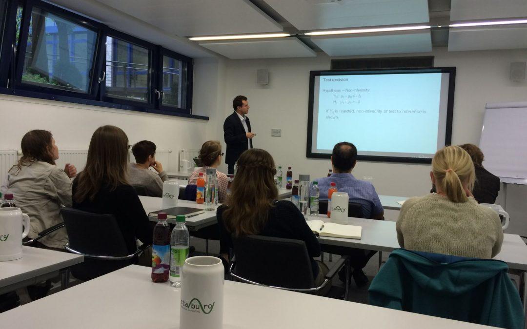Training@Staburo: Equivalence and non-inferiority trials