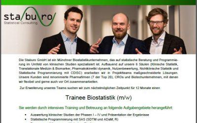 Trainee Biostatistik (m/w)