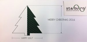 christmas card staburo biostatistics