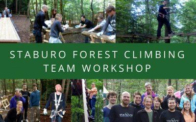 Staburo forest climbing team workshop