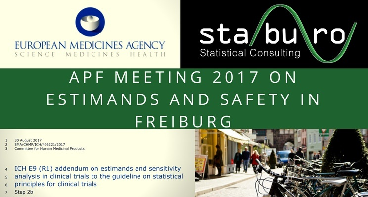 APF meeting 2017 on Estimands and Safety in Freiburg