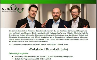 Werkstudent Biostatistik (m/w)