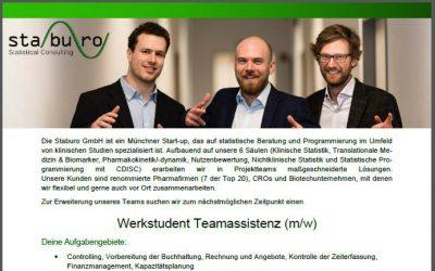 Werkstudent Teamassistenz (m/w)