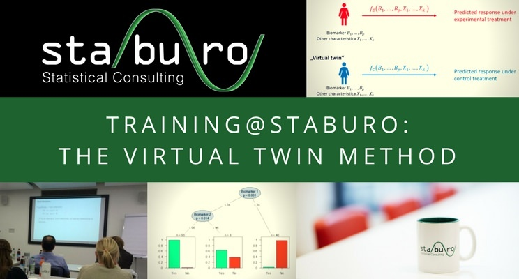 The Virtual Twin Method to identify patient subgroups