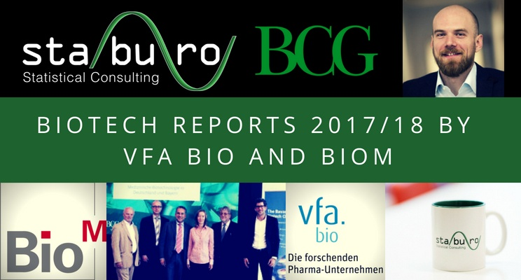 Presentation of biotech reports 201718 by vfa bio and BioM