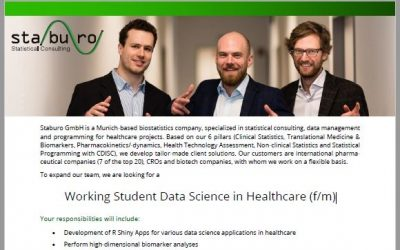 Working Student Data Science in Healthcare (f/m)
