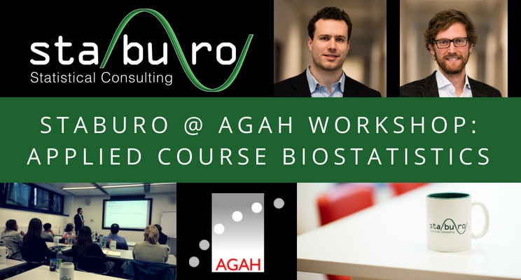 STABURO @ AGAH WORKSHOP: APPLIED COURSE BIOSTATISTIC