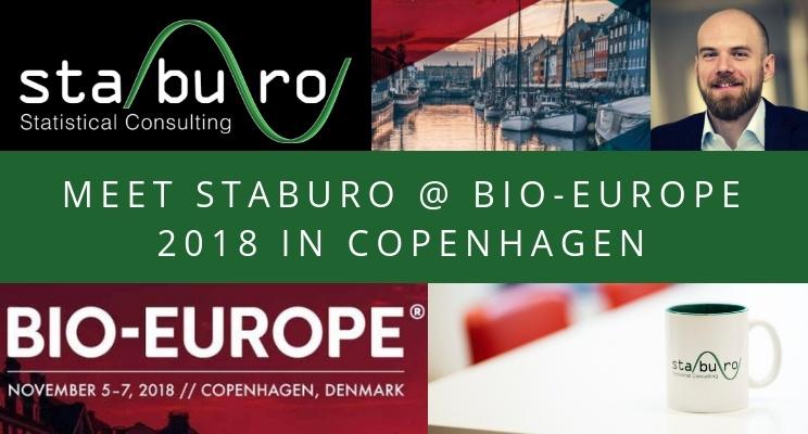 Meet us at the Staburo BIO-Europe 2018 booth in Copenhagen!