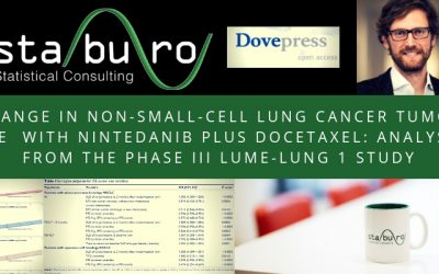 Change in non-small-cell lung cancer tumor size in patients treated with nintedanib plus docetaxel: analyses from the Phase III LUME-Lung 1 study