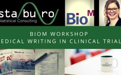 "STABURO @ BIO-M Workshop ""Medical Writing in Clinical Trials"""