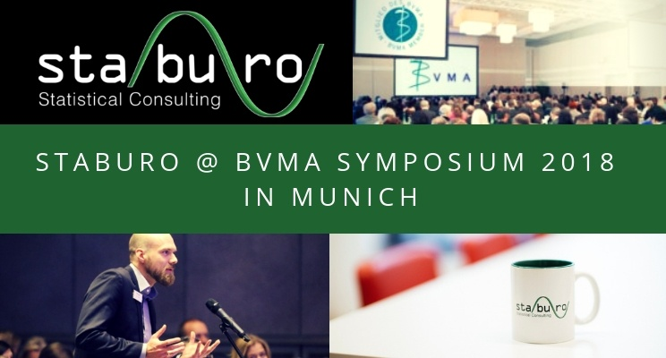 Staburo at the BVMA symposium 2018 in Munich