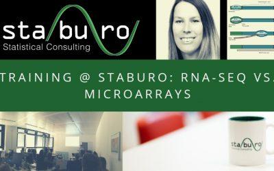 Training @ Staburo: RNASeq vs. Microarrays