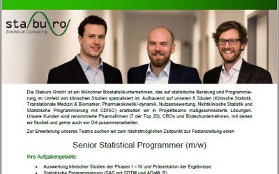 Senior Statistical Programmer (m/w) @ Staburo
