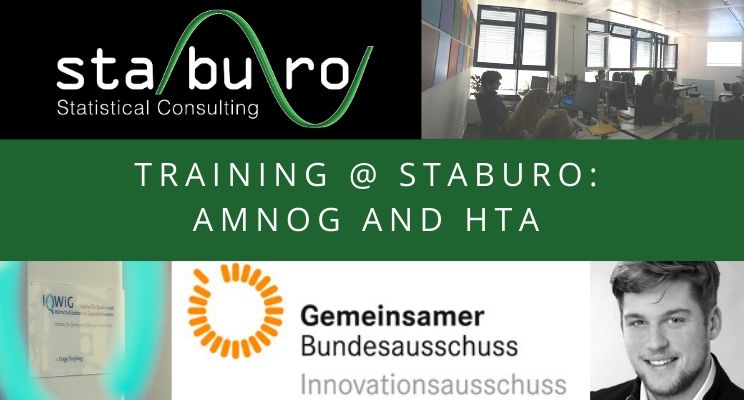 Training @ Staburo: AMNOG and HTA