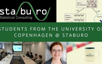 Students from the University of Copenhagen visited Staburo