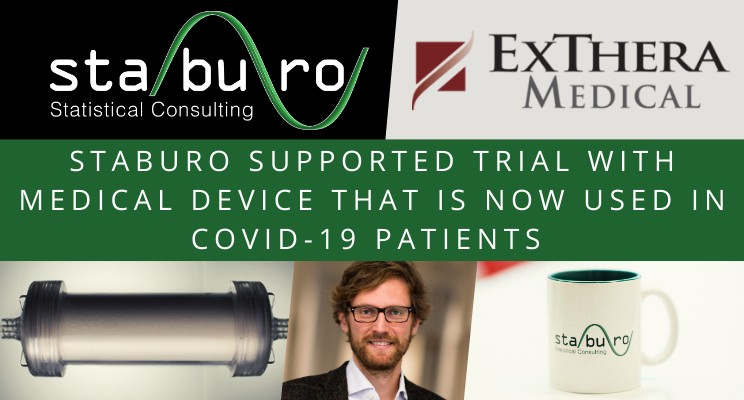 Staburo supported evaluation of medical device which got FDA Emergency Use Authorization for COVID-19