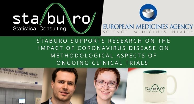 Staburo supports research on the impact of coronavirus disease on methodological aspects of ongoing clinical trials
